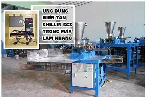Biến tần Shihlin SC3 dùng cho máy làm nhang