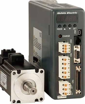 Động cơ servo và bộ điều khiển servo SDA