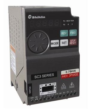 Biến tần Shihlin SC3 1 pha 220VAC